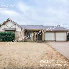 Rental info for 5408 Ceran Drive in the Fort Worth area