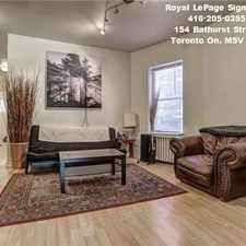 Rental info for 109 Sunnyside Avenue in the High Park-Swansea area