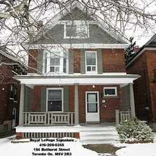 Rental info for 292 Evelyn Avenue in the Runnymede-Bloor West Village area