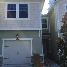 Rental info for 17815 Stella Moon Pl Lutz Three BR, Brand new town home located