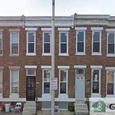 Rental info for Come visit this recently renovated 3 bedroom 1 full bath home in Baltimore in the Baltimore area