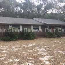Rental info for Cute Brick Facade 3/1.5 with Family Room in Deland