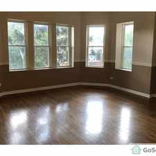 Rental info for *** BEAUTIFUL 3 BEDROOM UNIT - READY NOW FOR RENT @ 75TH & MAY *** in the Chicago area