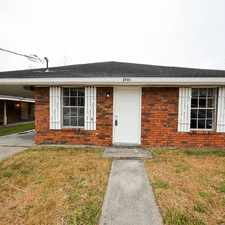 Rental info for 2731 Dawson Street in the Kenner area