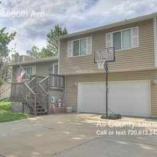 Rental info for 8863 West 86th Ave in the Arvada area