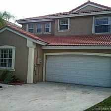 Rental info for 15340 Southwest 49th Street in the Miramar area