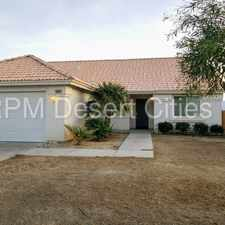 Rental info for Spectacular Views - 3 Bed 2 Bath Home in Desert Hot Springs