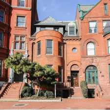 Rental info for Apt. 2 8 Logan Circle NW in the Washington D.C. area