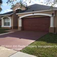 Rental info for 2145 Bridgeview Circle in the Orlando area