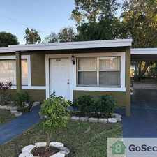 Rental info for Newly Renovated 4 Bedroom 2 Bath home in the Fort Lauderdale area