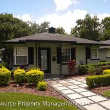 Rental info for 1518 East Washington St. in the Orlando area