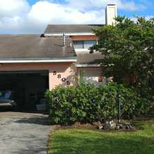 Rental info for 5805 SW 146th Ct in the Kendall West area