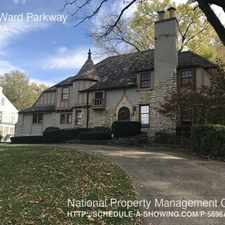 Rental info for 5101 Ward Parkway in the Kansas City area