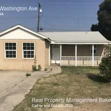 Rental info for 1318 Washington Ave in the Bakersfield area