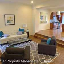 Rental info for 477 Josephine St in the Denver area