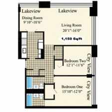 Rental info for 1133 S Michigan Ave in the Grant Park area