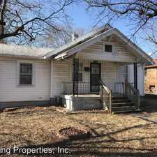 Rental info for 1127 S. Broadway in the Springfield area