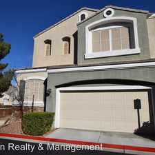 Rental info for 932 Paisley St. in the Las Vegas area