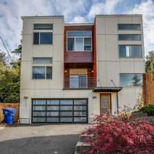 Rental info for 7526 21st ave sw - 4 bedrooms + den in the Seattle area