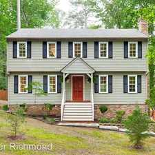 Rental info for 2800 Kenbury Rd in the Richmond area