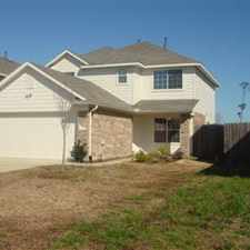 Rental info for Beautiful, Double Story, 4 Bedroom, 2 1/2 Bath Home! Will go quick! in the Houston area