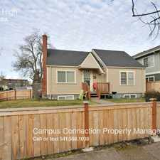 Rental info for 1695 High in the Eugene area
