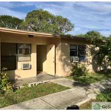 Rental info for 1 Bedroom / 1 Bath Apartment in the Fort Pierce area
