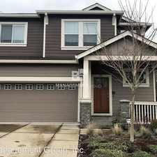 Rental info for 244 NW 117th Loop in the Beaverton area