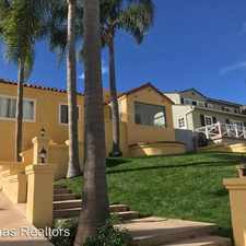 Rental info for 3219 Curtis St in the San Diego area