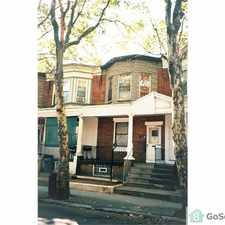 Rental info for Beautiful house in excellent location on a great tree lined street near transportation, park, schools, and shopping in the Philadelphia area