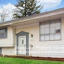 Rental info for 8417 E 42nd St in the Indianapolis area