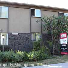 Rental info for 1849 Garfield Place in the Los Angeles area