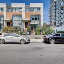 Rental info for 70 Cole Street in the Regent Park area