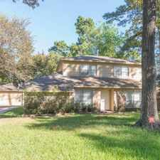 Rental info for 22802 Briarcreek Boulevard in the Houston area
