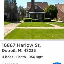 Rental info for $825 3 bedroom House in Dearborn in the Detroit area