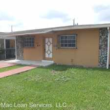 Rental info for 10600 Sw 26th Terr in the University Park area