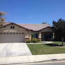 Rental info for 10800 Villa Hermosa Dr in the Bakersfield area