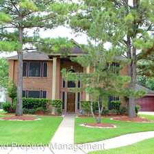 Rental info for 14215 Lake Trail Dr in the Houston area
