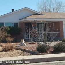 Rental info for 1112 Indiana St SE in the Albuquerque area