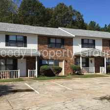 Rental info for 2 Bed 1.5 bath located near Downtown Anderson
