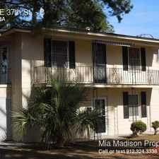 Rental info for 1526 E 37th St. in the Savannah area