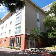 Rental info for 210 5th Ave S #107 in the St. Petersburg area