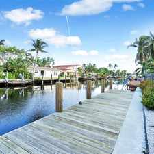 Rental info for BOOM 3/2 LUXURY WATERFRONT POOL HOME W/ DOCK $3,299 MO. *** SEE PHOTOS & REMARKS*** in the Fort Lauderdale area