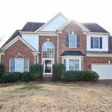 Rental info for 8227 Beardsley Drive in the Charlotte area