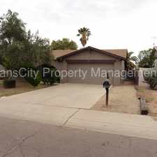 Rental info for Chandler home for rent- 3 bed 2 bath Dobson/Elliot Woodglen Subdivision in the Mesa area