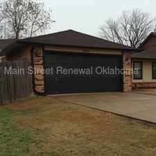 Rental info for Beautiful SW OKC Home in the Oklahoma City area