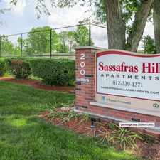 Rental info for Sassafras Hill Apartments in the Bloomington area