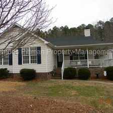 Rental info for One story house in Creedmoor on Ferbow