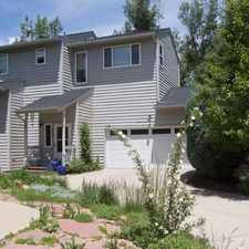 Rental info for 125 Mineola Ct in the Boulder area