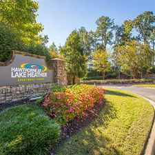 Rental info for Hawthorne at Lake Heather